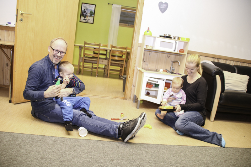 Vil Knytte Småbarnsfamilier Tettere Sammen