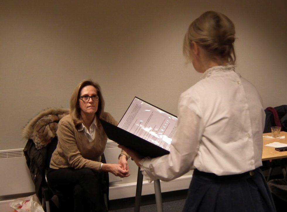 Urpremiere På Teaterstykket Om Arendals Kjente Personer