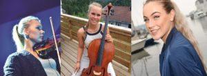 BIDRAR: Kari-Andrea Larsen, Åse-Maria Bygland Larsen Og Torine Michelle Underholder Alle På Innsamlingsarrangementet. Foto: Arkivfoto/Pressefoto