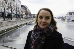 NY BOK: Forfatter Benedikte Meyer Kroneberg Er Ute Med Ny Bok. Foto: Grete Helgebø