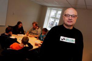 SPILL: For 17ende Gang Inviterer Spillgeneral Vidar Aas Til Spilluke På Kilden I Vinterferien. Arkivfoto