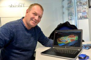 FRISK SATSING: Salgsleder Paul Weisz Wergeland Har Stor Tro På At Virtuell Sandkasse Kan Bli En Del Av Virkeligheten For Arendalsskolene.
