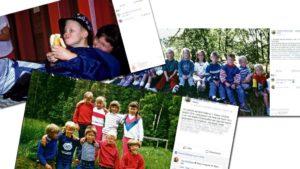 ULOVLIG: Faceboksiden Bråstad Skole Bryter Loven Ved å Legge Ut Klassebilder Og Nærbilder Uten Samtykke. Fotokollasj: Maria Åsheim
