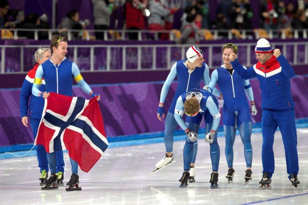 Simen Fra Arendal Skøyta Seg Inn Til OL-gull