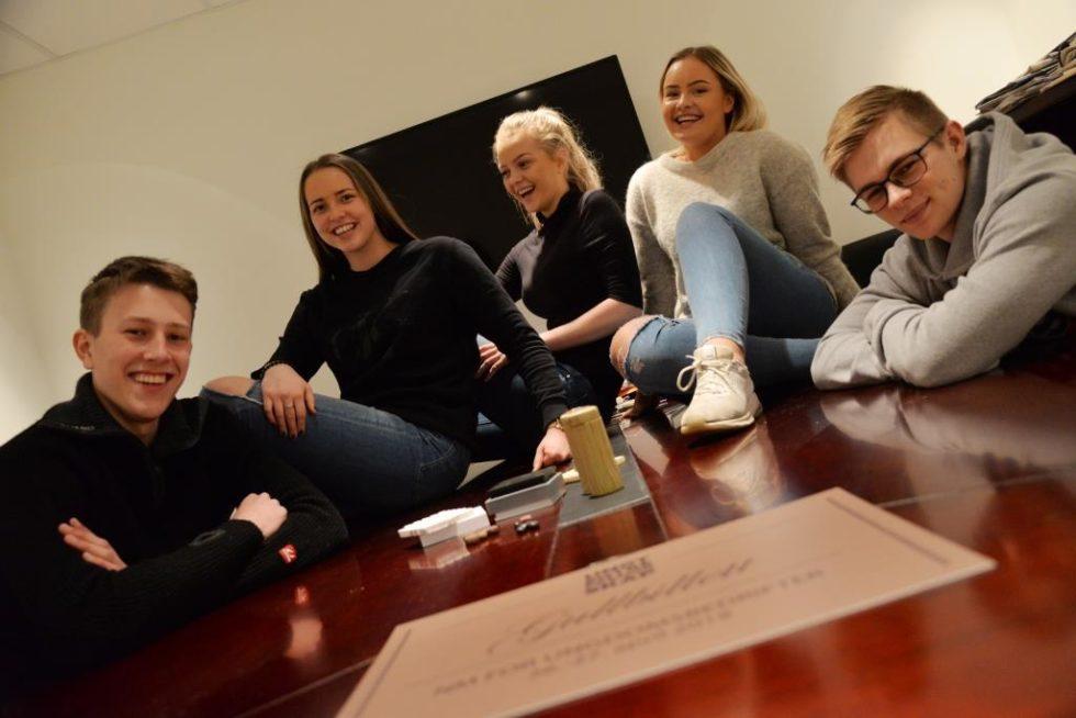 Ungdomsbedrift Med Gullbillett Til NM