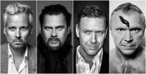 UTSTILLING: Ari Behn, Per Heimly, Mikael Persbrandt Og Tor Rafael Stiller Ut Sine Arbeider I En Pop-up-utstilling På Pakkhuset Galleri. Pressefoto