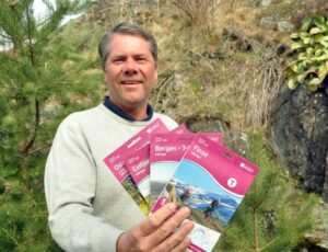 FORNØYD: Geir Mellum, Administrerende Direktør I Nordic Outdoor, Er Fornøyd Med Oppkjøp Av Nordens Største Kartleverandør. Foto: Bente J. Harstad/Nordic Outdoor