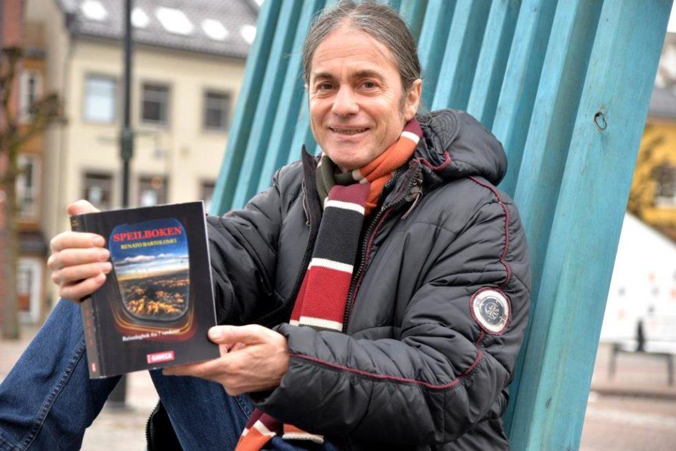 BOKDEBUTANT: Renato Bartolomei Har Gitt Ut Sin Aller Første Roman.