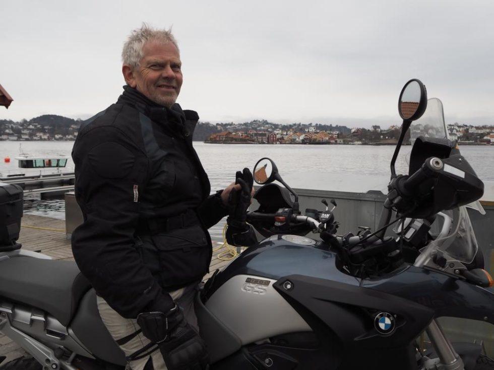 FRISKUS: Roar Langerud Satser Fortsatt Friskt Både I Arendal Og På Grønland. Foto: Privat