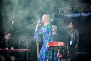 PLATEDEBUT: Solevig Andersen Platedebuterte I 2017, Og Sto På Festivalen Hovedscene Samme år. Pressefoto