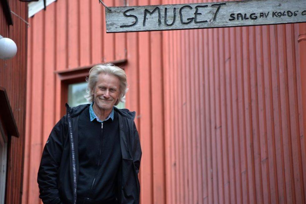 BAKGÅRDSGENERAL: Frank Kvarstein Er Strålende Fornøyd Med Sommerens Program I Bakgården. Foto: Linda Dyrholm