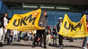 UKM: Det Krydde Av Ungdommer I Arendal Sentrum Fredag Og Lørdag. Foto: Magne Skagen