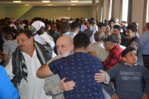 GLEDE: Det Var Stor Glede I Moskeen Under Feiringen.