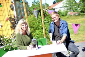 KLAR FOR FESTIVAL: Innehaverne Av Studio Spornes, Tom Rudi Torjussen Og Mari Dale, Inviterer Til Tre Dagers Festival Til Helgen.