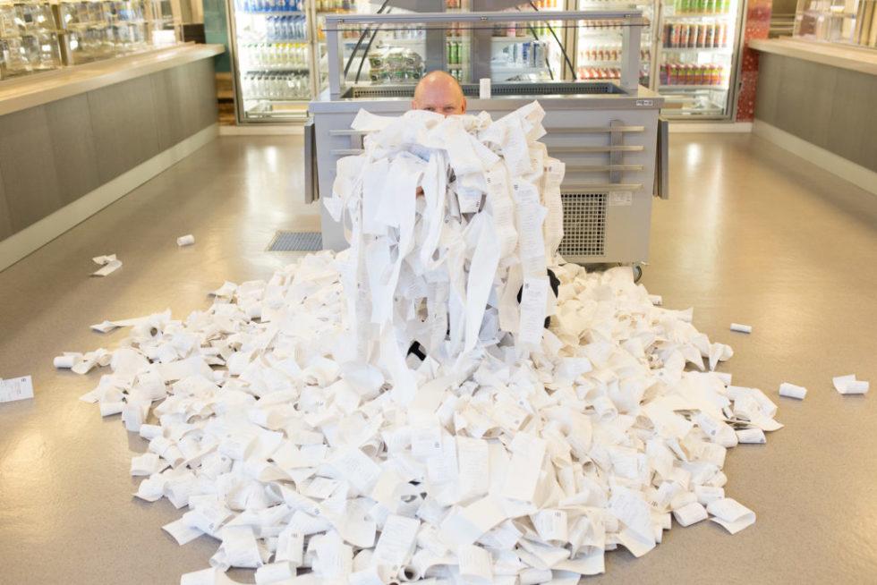 Skatteetaten Snur I Kravet Om Papirkvitteringer