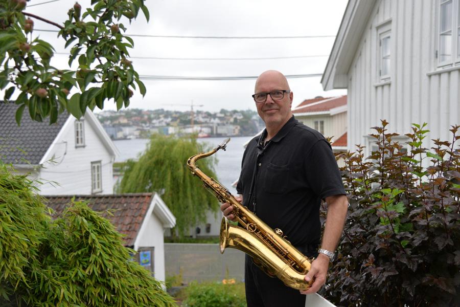 Musikalsk «famileaffære» I Bakgården