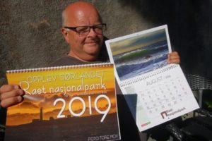 NATURFOTOGRAF: Tore Moy Deler Naturfotografier Fra Raet Nasjonalpark Gjennom Neste års Raet-kalender. Pressefoto