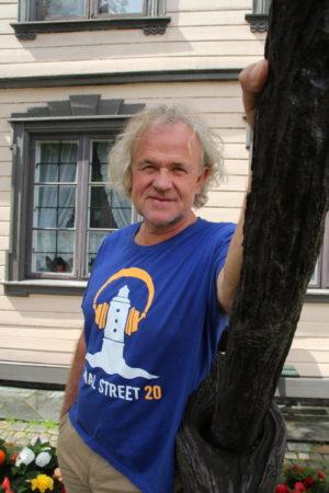 FORNØYD FESTIVALSJEF: Mats Aronsen Er Fornøyd Med årets Canal Street, Og Er Godt I Gang Med Neste års Program.