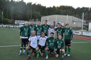 KLARE TIL KAMP: Hisøys A-lag Klarte å Revansjere Vårsesongens Tap, Og Slo Froland 2-0.