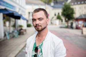 TOSIDIG: Ruben Er Både En Drømmer Og En Handlingens Mann. Foto: Mona Hauglid