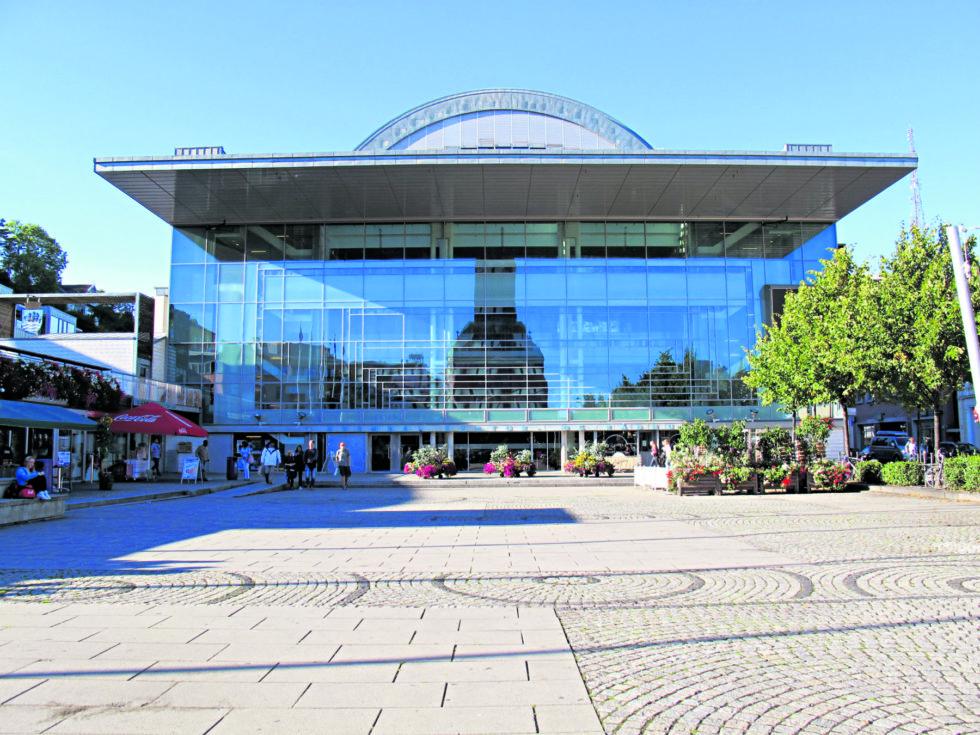 Arendal Kulturhus I Breddeformat