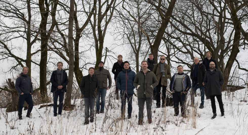 NY PLATE: Scheen Jazzorkester Fremfører Musikk Fra Ny Plate Når De Gjester Jazzklubben, Torsdag Kveld. Foto: Stian Herdal