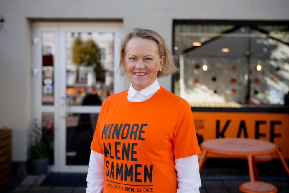STOLT REGIONSKONTAKT: Anita Mørland Gleder Seg Til å Se Hva årets Tv-aksjon Kan Gjøre For Kirkens Bymisjon. Foto: Mona Hauglid