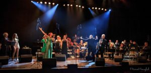 SHOW: Arendal Big Band, Med Audun Dertz I Spissen, Inntar Byens Storstue, Lørdag. Arkivfoto: Mona Hauglid