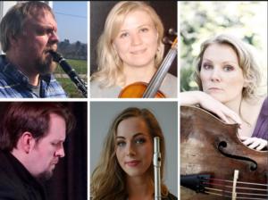 LOKAL UTØVERE: Fem Musikere Fra Regionen Utgjør Agder Camerta. Pressefoto