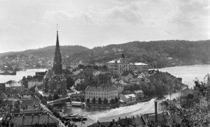 ARENDAL 1915: Alf Nicolay Dannevig Livnærte Seg Aldri Av Fotografering, Men Videreførte Lidenskapen For Foto Videre I Generasjoner. Foto: Dannevig