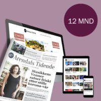 Papiravis En Gang I Uka (kun I Arendal), Pluss Full Tilgang På Nett