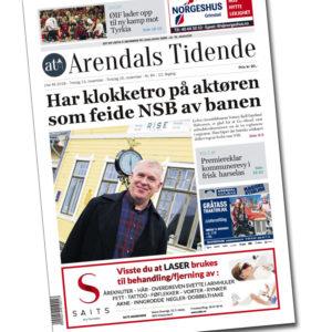 Papiravis To Ganger I Uka (kun I Arendal), Pluss Full Tilgang På Nett
