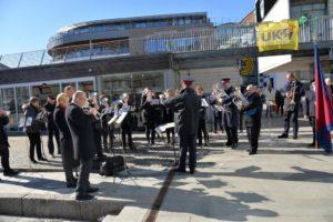 REKRUTTERING: Frelsesarmeens Hornorkester Vil Rekruttere Nye Musikanter. Arkivfoto