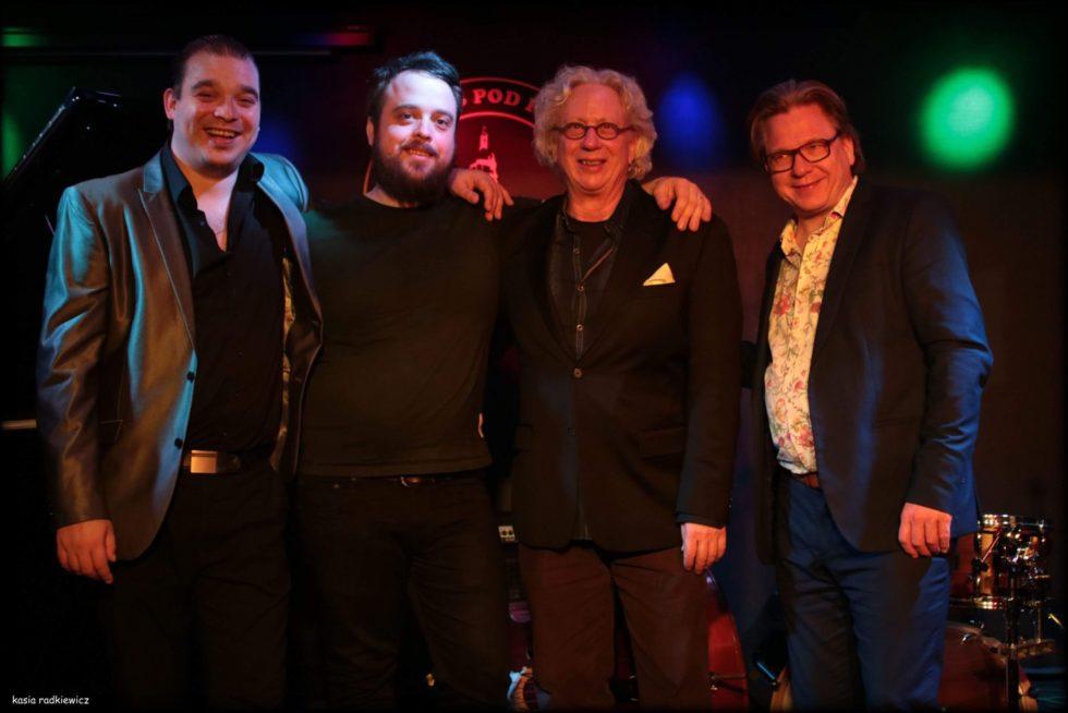 TIM HAGANS QUARTET: Kombinasjonen Nordisk Og Amerikansk Jazz Møtes På Scenen I Lille Torungen, Onsdag Kveld. Foto: Kasia Radkiewicz