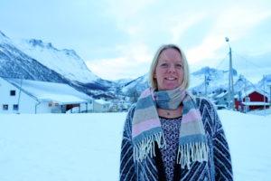 ØYHOPPER: Tromøygeita Solveig Bjerkholt Har Byttet Tromøy Ut Mot Husøy I Troms, Og Føler Seg Hjemme I Både Nord Og Sør.