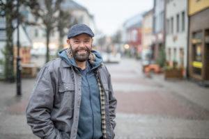 HÅPEFULL: Jan Fasting ønsker å Skape Noe Flott Og Minnerikt For Arendal. Foto: Mona Hauglid