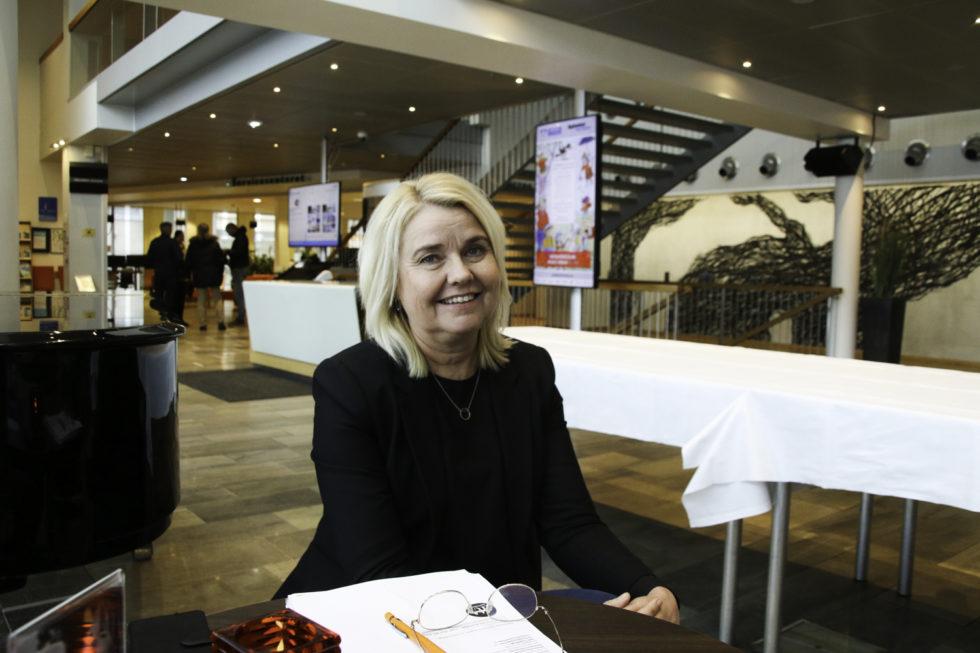 LEDER: Gunn Alice Andersen Er Barnehagesjef I Arendal Kommune. Foto: Grete Helgebø
