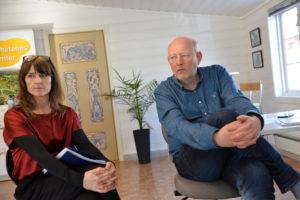 FULL ÅPENHET: Styreleder Ingunn Kilen Thomassen Og Daglig Leder Terje Stalleland, I HDU, Vil Ha Full åpenhet. Foto: Linda Dyrholm