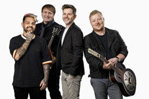 COMEBACK: Etter Ti års Pausen Kan Vi Igjen Høre De Fire Kameratene Lind, Nilsen, Fuentes Og Holm. Pressefoto
