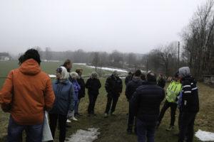 DISKUSJON: Ikke Alle Innbyggerne Var Klar Over Hvordan Veien Kan Påvirke Dem. Foto: Grete Helgebø