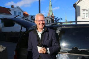 ALLIANSENLEDER: Hans Jørgen Lysglimt Johansen. Foto: Grete Helgebø