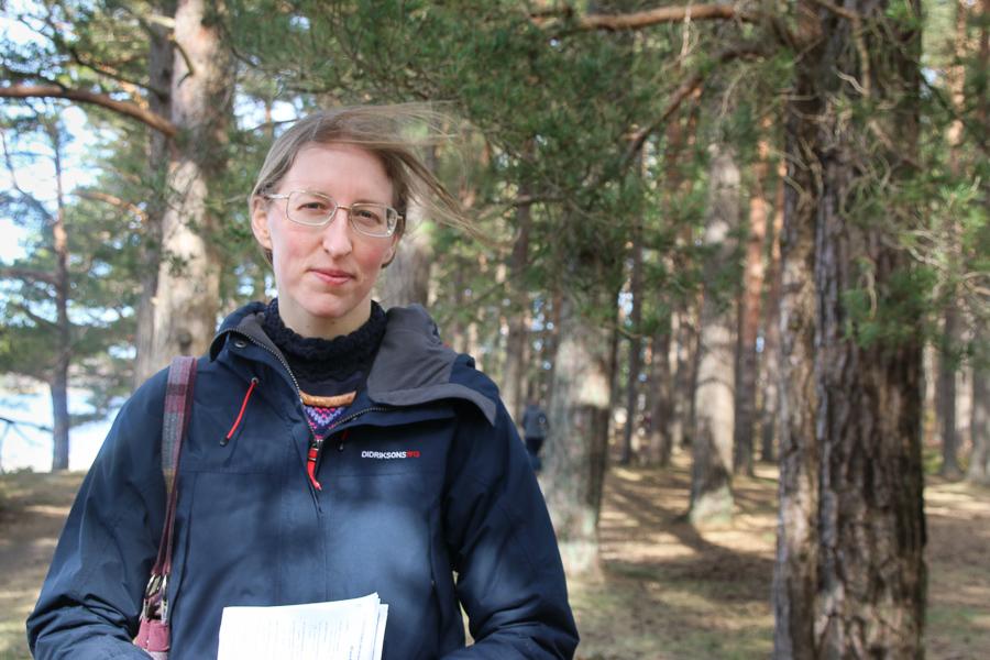 Hun Har Ansvar For å Verne Raet:   Byråkrat I Friluft