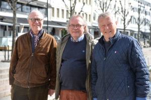 ILDSJELER: De Tre Ildsjelene I Lions Arendal Legger Mye Tid Og Engasjement I Organisasjonen. F.v: Jens Koch, Torgeir Hermansen Og Arne Huseby.