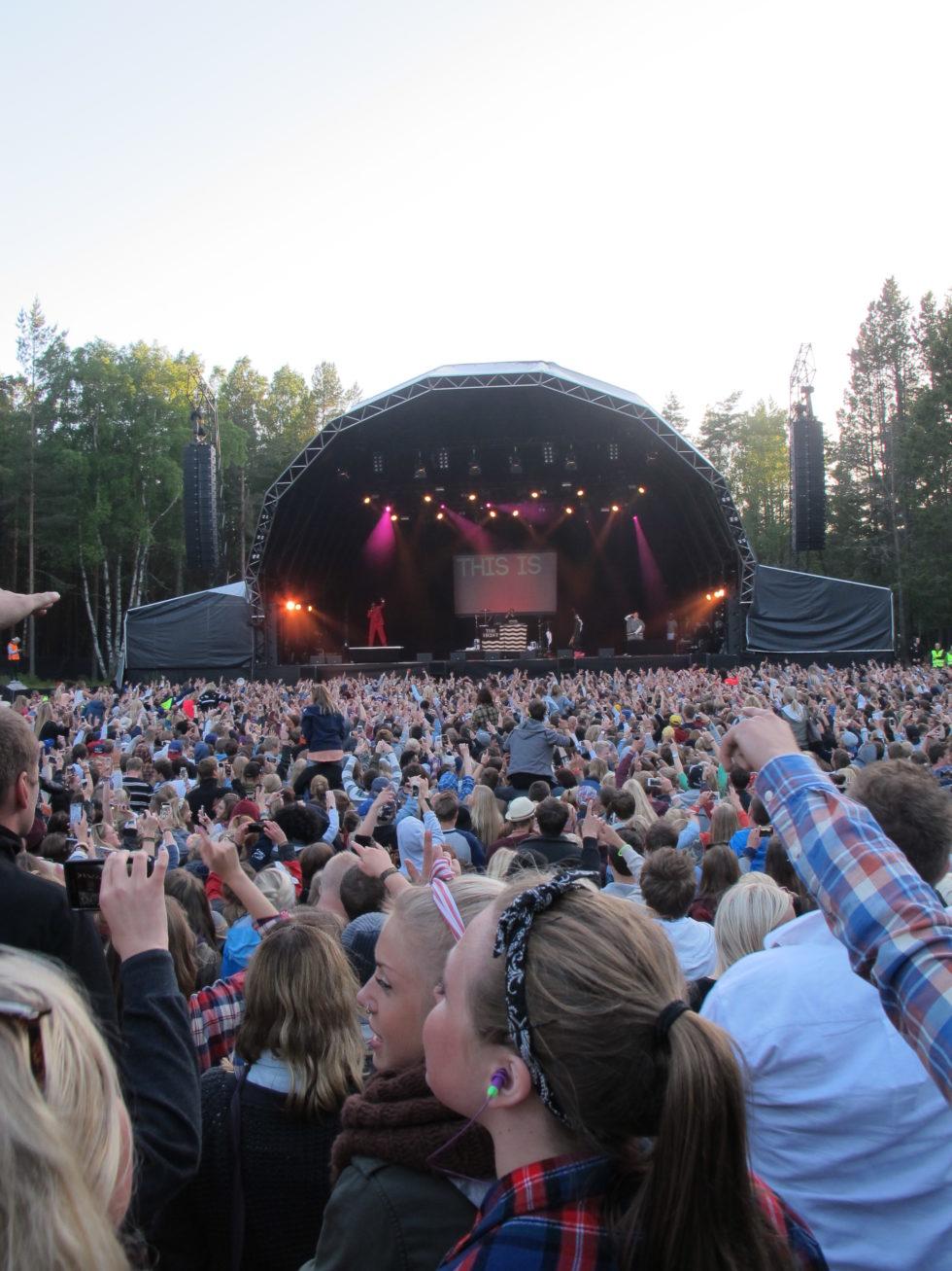AVLYST: Festivalglede Som Her På Bildet Vil Ikke Avholdes På Hove Neste Helg. Arkivfoto