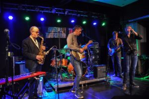 LOKAL BLUES: Arendal Bluesband Spiller For Bluesklubben. Pressefoto