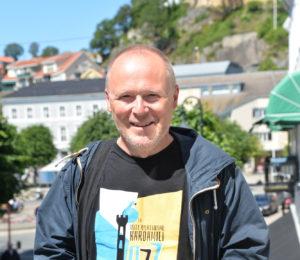 EKSPERTRÅD: Jazzgitarist Espen Larsen Lever Og ånder For Musikken. Sjekk Hvilke Konserten Han Anbefaler På årets Canal Street. Foto: Linda Dyrholm