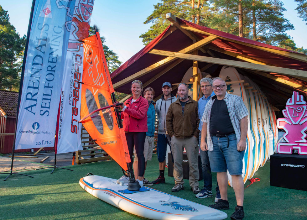 Åpnet Norges Første Seilbrettsenter