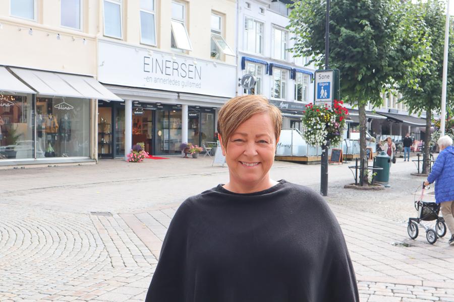 Linda Dagestad Øygarden, Høyre. Foto: Grete Helgebø