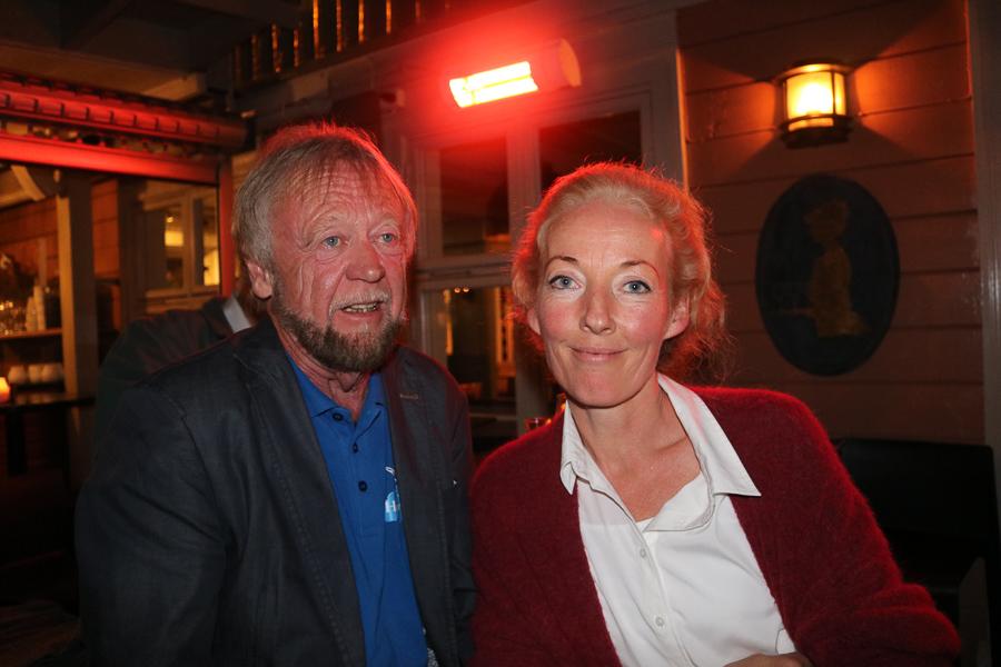 DUO: Hovelistas Førstekandidat Thore K. Karlsen Og Andrekandidat Kristina Stenlund Larsen. Foto: Helene Walle