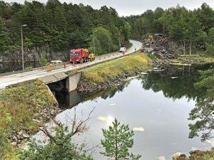 STENGT: Ubekilen Blir Ikke Tilgjengelig For Båter Fremover. Foto: Statens Vegvesen